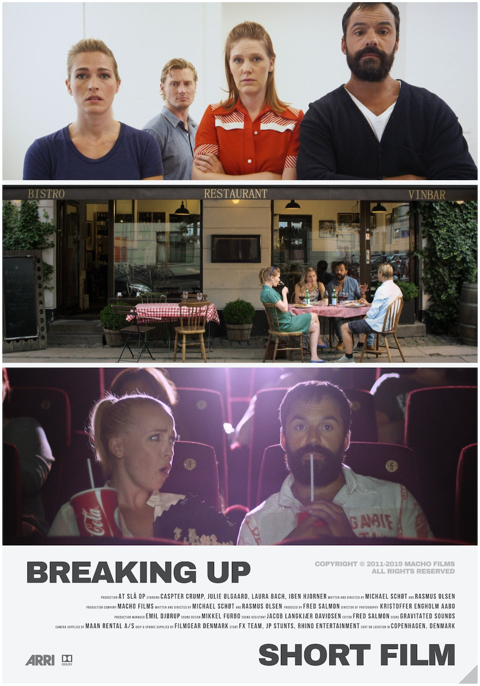 M A C H O - Breaking Up // Short Film