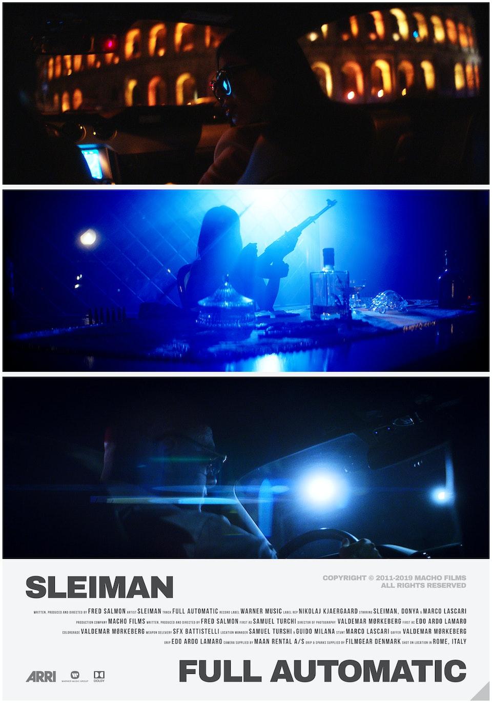 M A C H O - Sleiman // Full Automatic