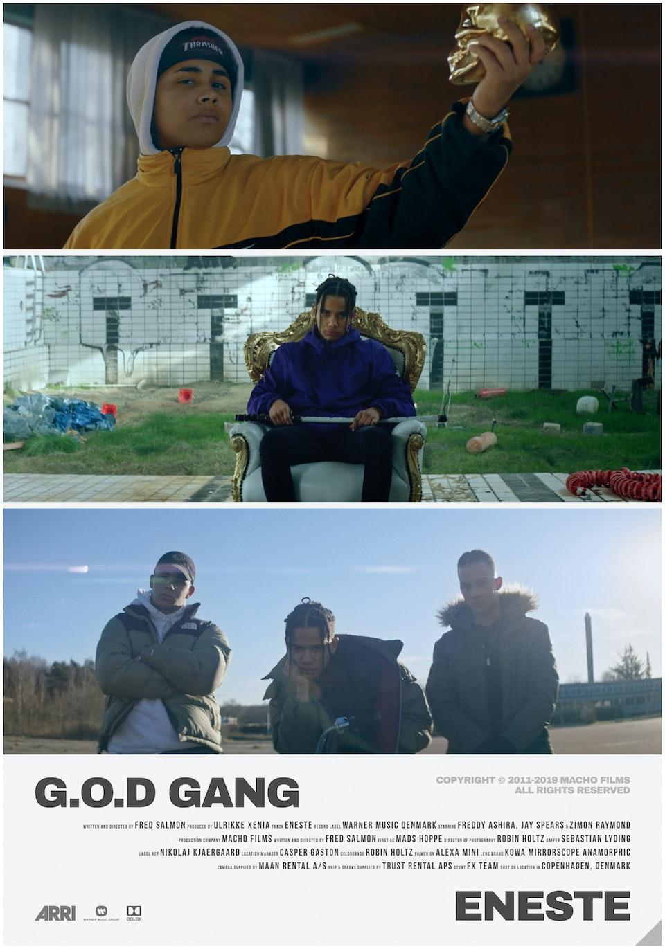 M A C H O - G.O.D Gang // Eneste