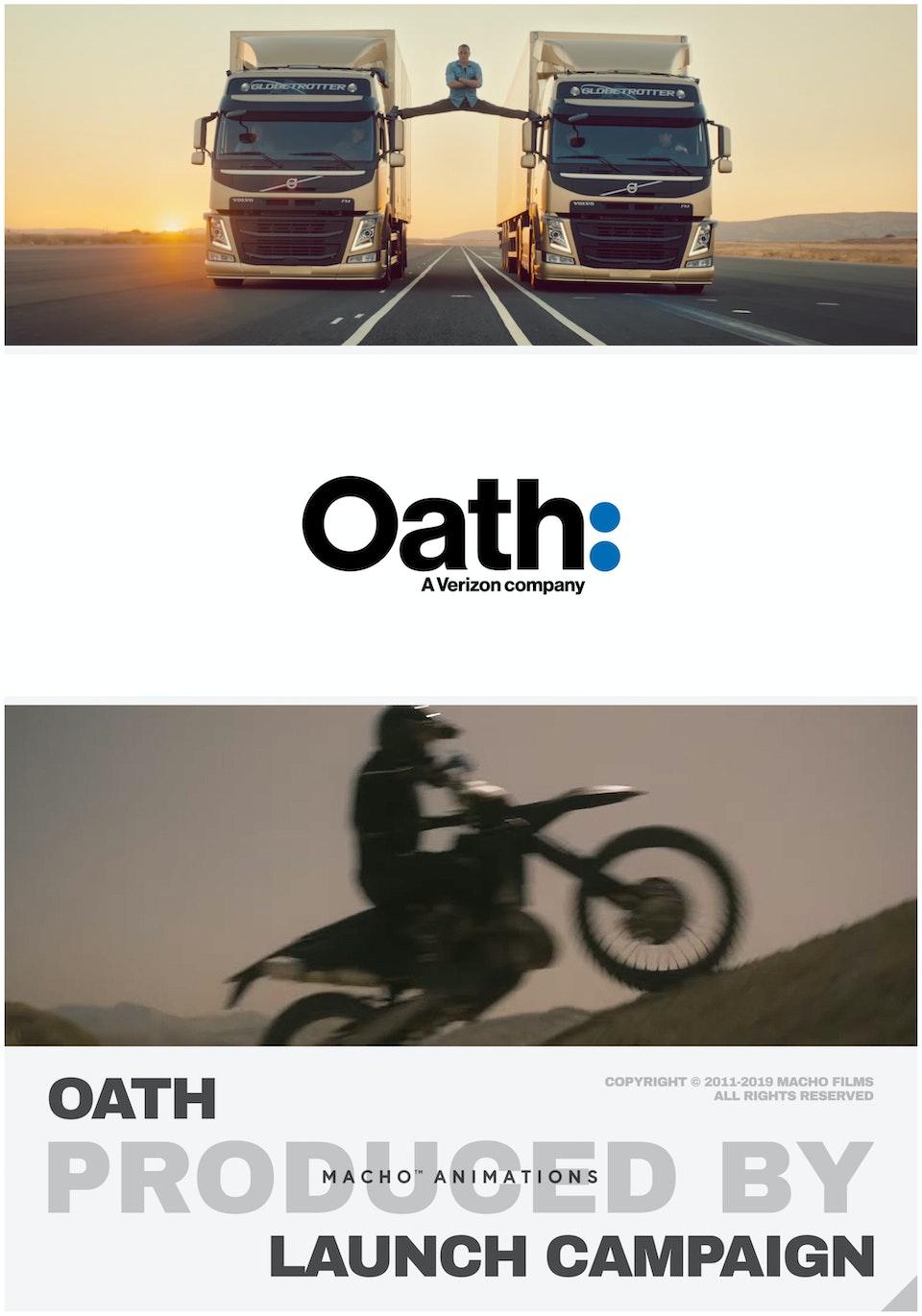 M A C H O - Oath // 2018 Launch Campaign