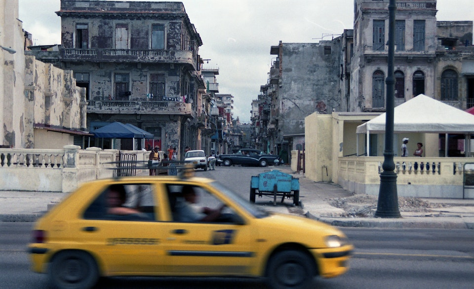 Photography - Havana 2008 35mm  Kodak Gc 400-9