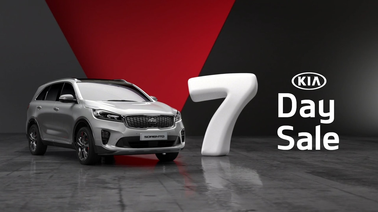 KIA Seven Day Sale