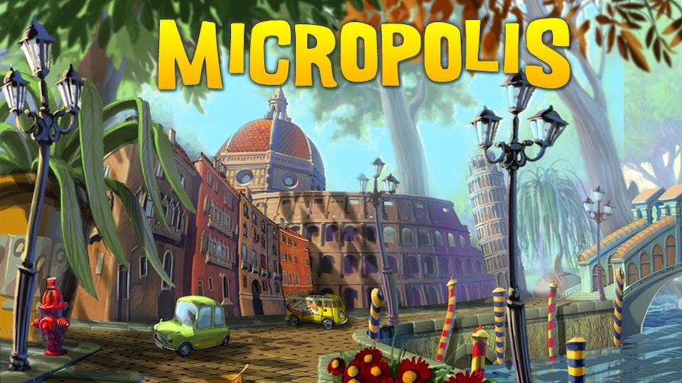ar // vr // vfx // produced by zoltan sostai - Micropolis