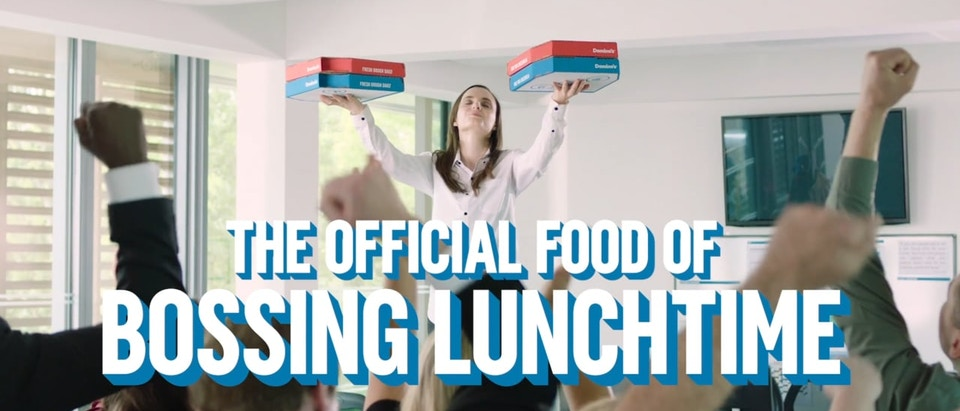 Domino's - Bossing Lunchtime