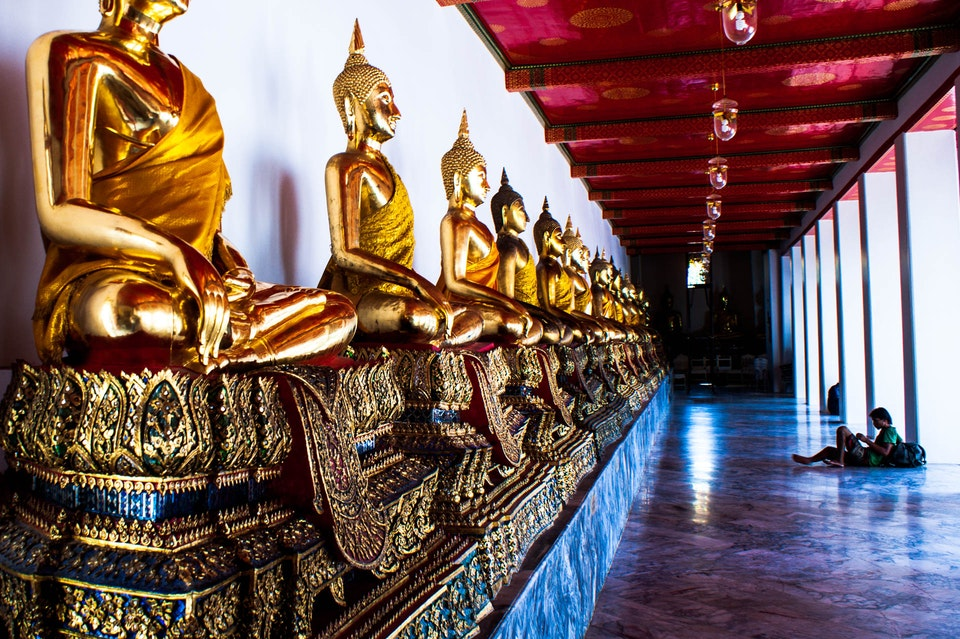 Temple of Buddha Reclining