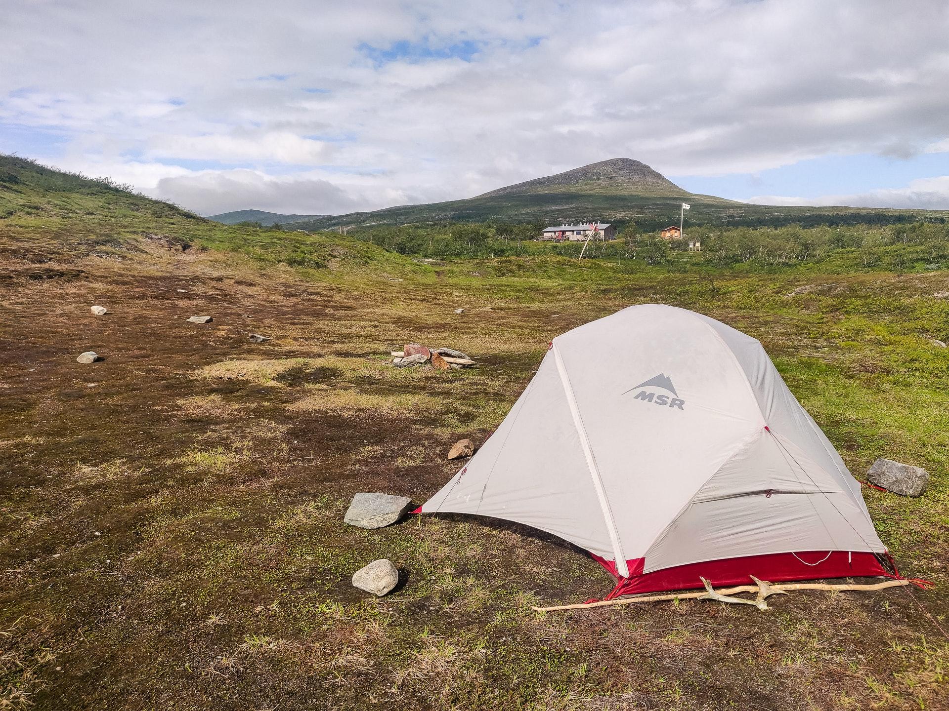 STF Syter Fjällstuga Free Camping