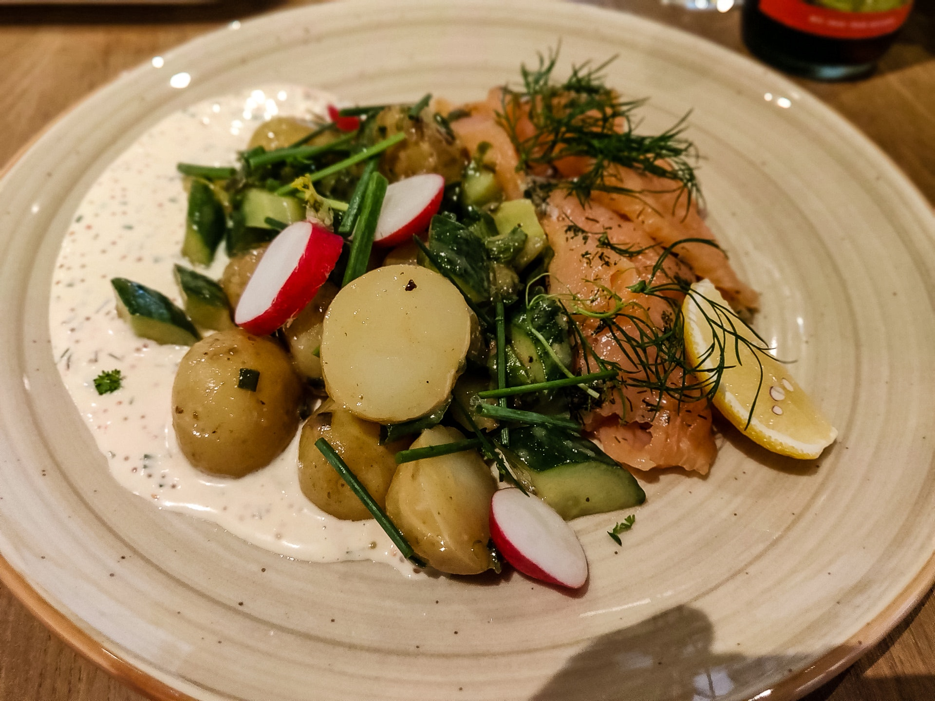 Lunch at Kalmar Slott Cafe