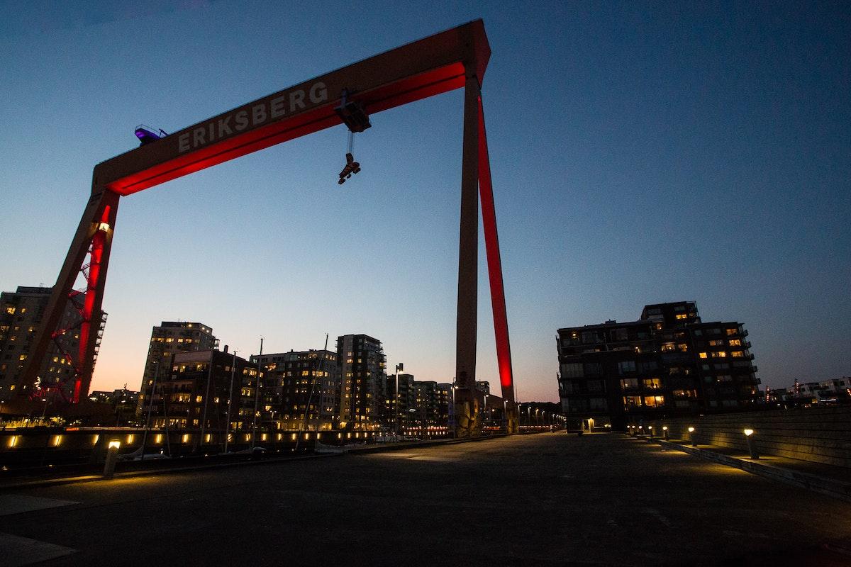 Gothenburg Night Shoots Meetup | Eriksberg
