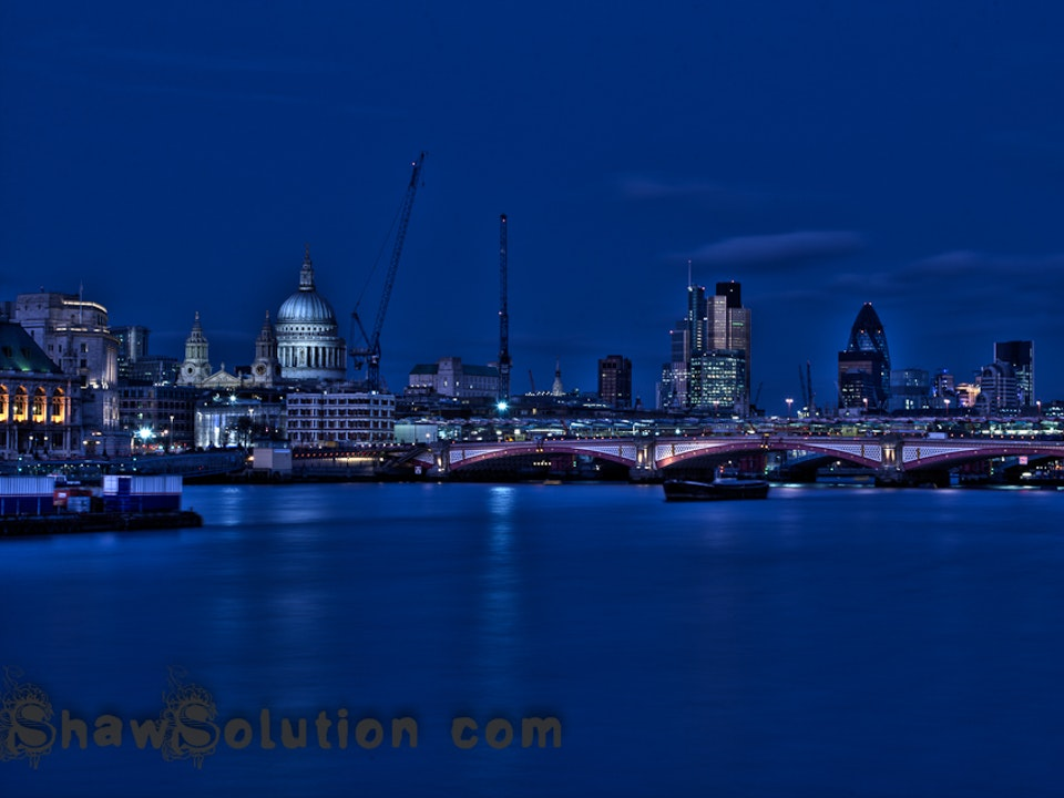 A Tog's Trek - HDR London, as the sun sets...