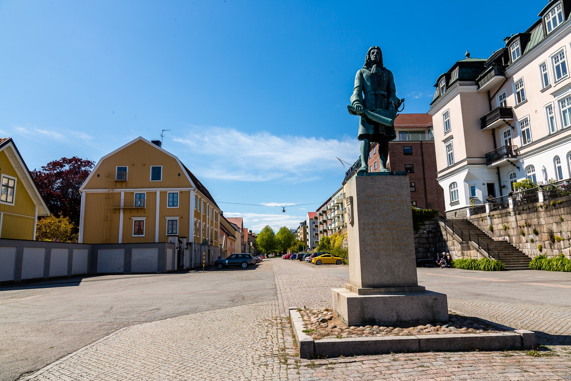 Monument to Admiral Hans Wachtmeister