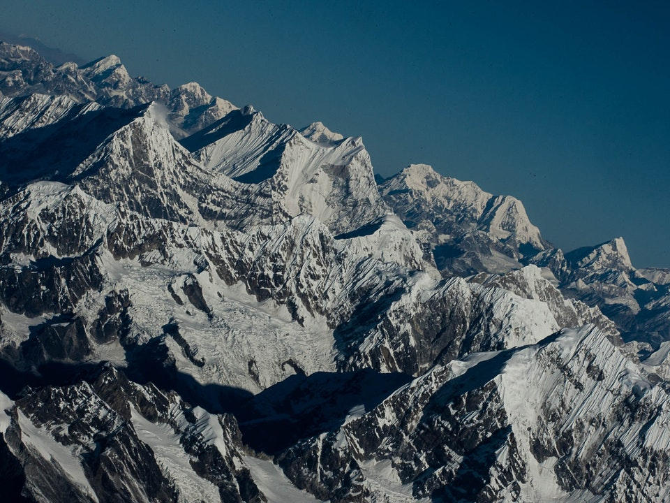 A Tog's Trek - Everest from the Air