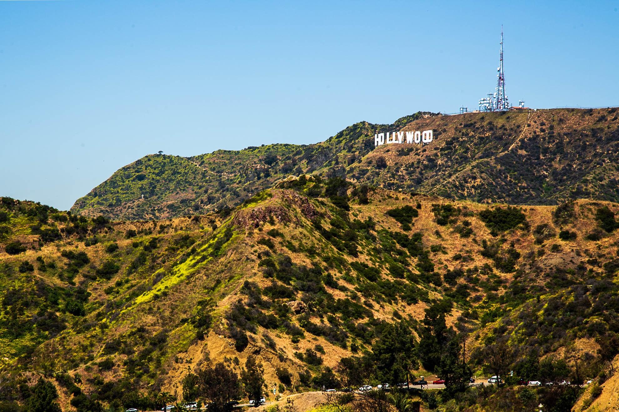 Hollywood Sign, Firebreak Trail