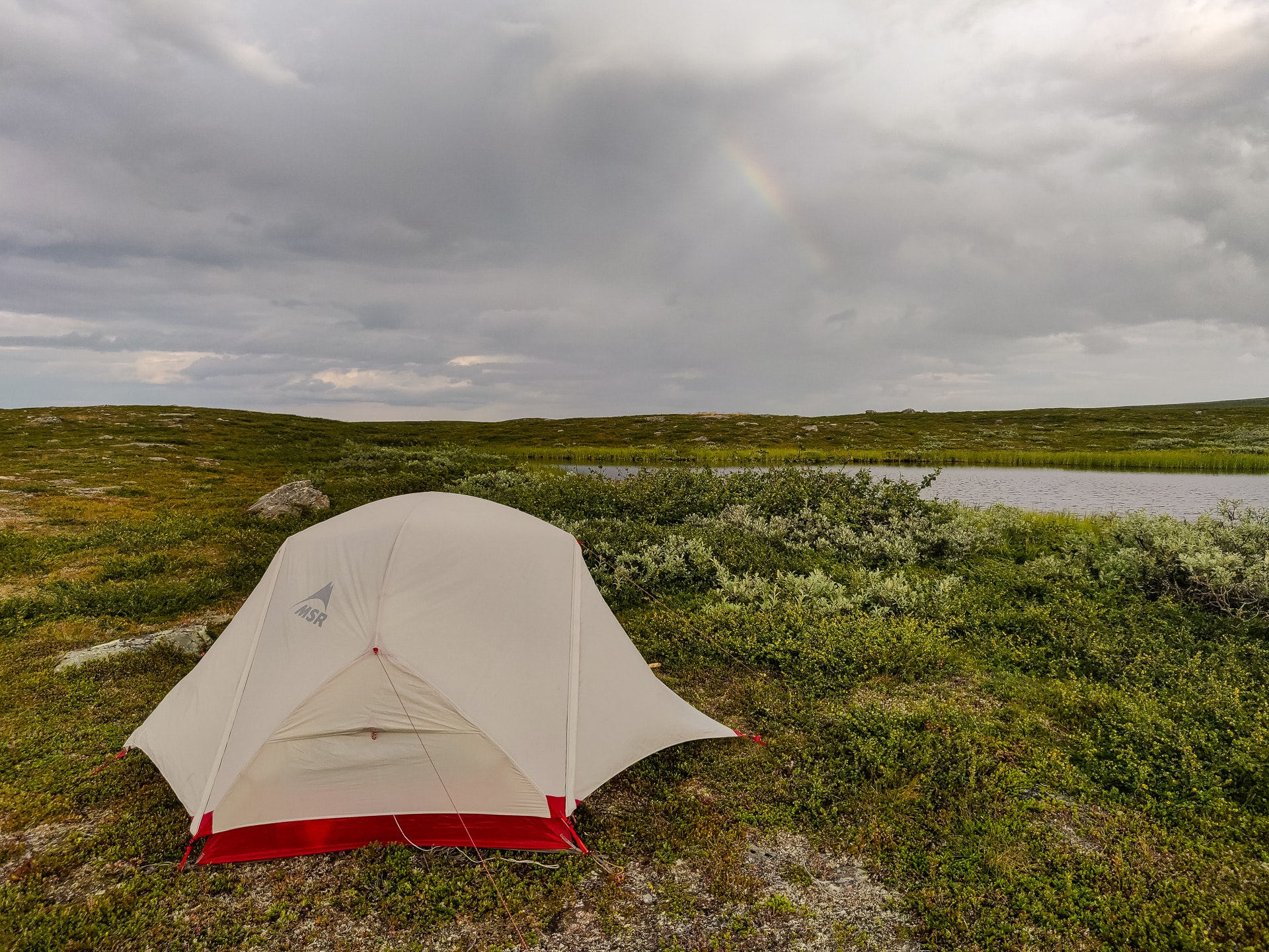 Rainbow camping