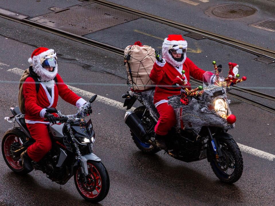 A Tog's Trek - Motorcycle Santas