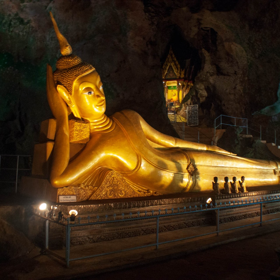 A Tog's Trek - Cave of the Reclining Buddha