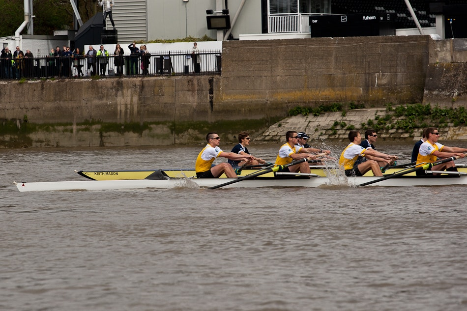 158th Xchanging Boat Race between Oxford and Cambridge