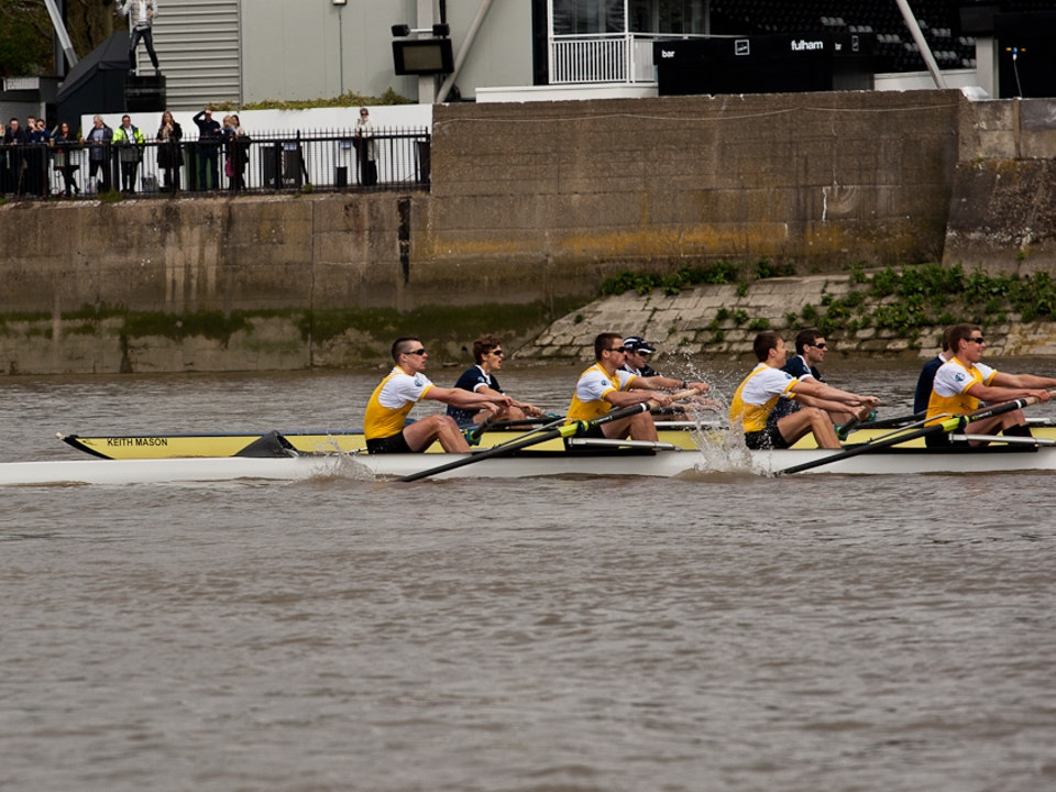 A Tog's Trek - 158th Xchanging Boat Race