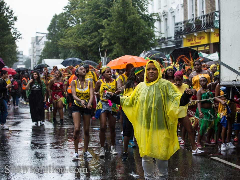 A Tog's Trek - Notting Hill Carnival 2014