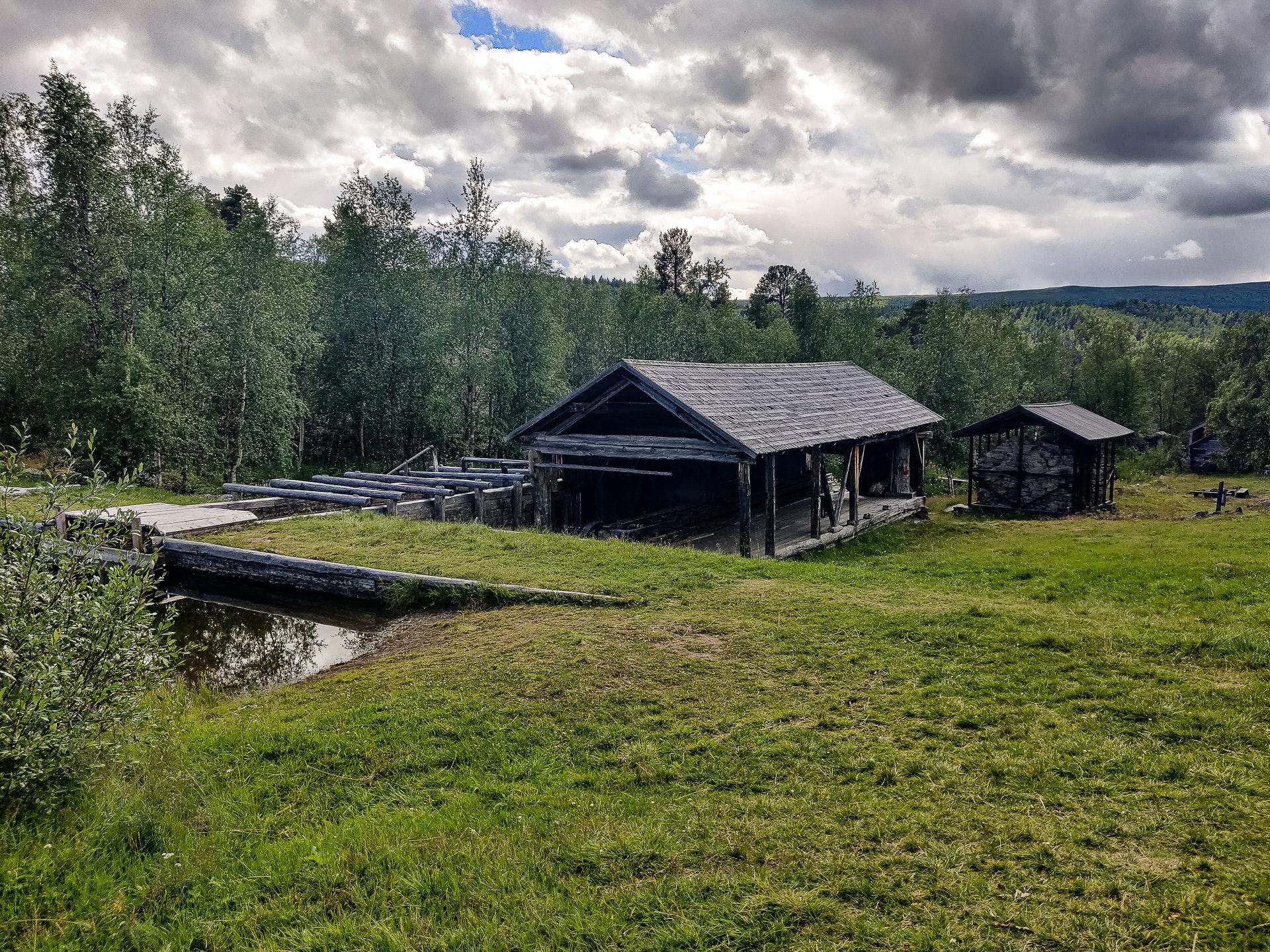 Adolfström Hyttruin sawmill