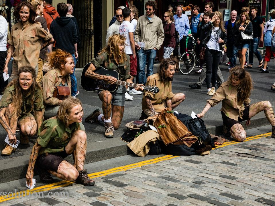 A Tog's Trek - Edinburgh Fringe 2013