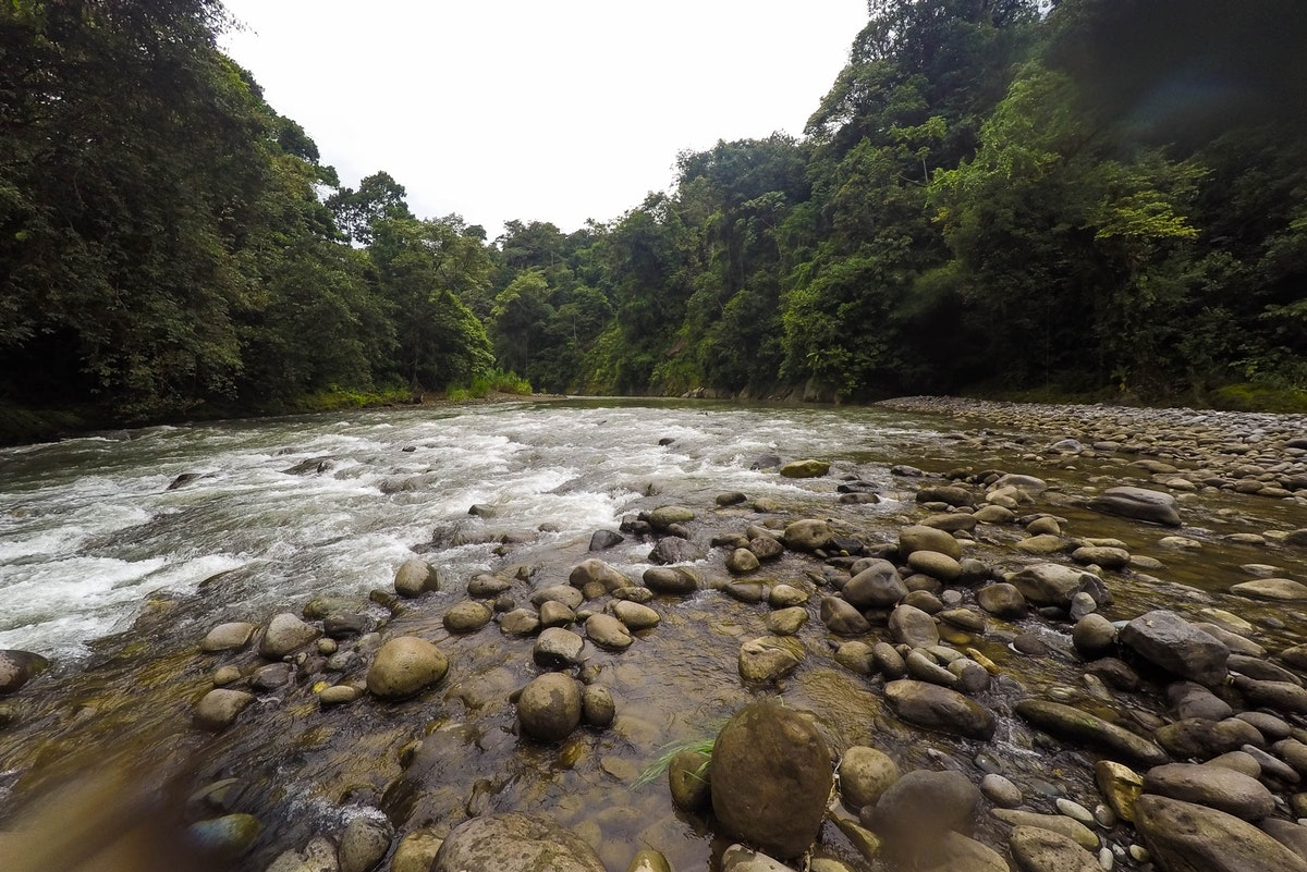 Rafting the Pacuare River