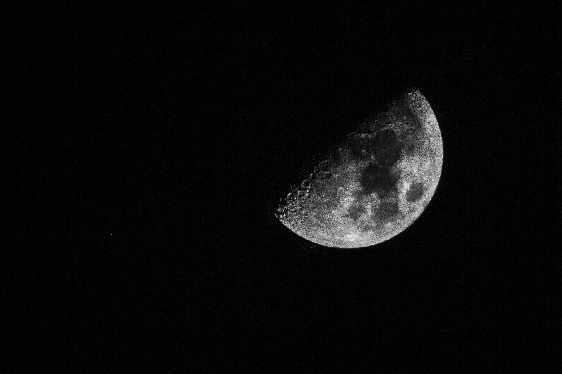 Moon at 1/125, f11 ISO640