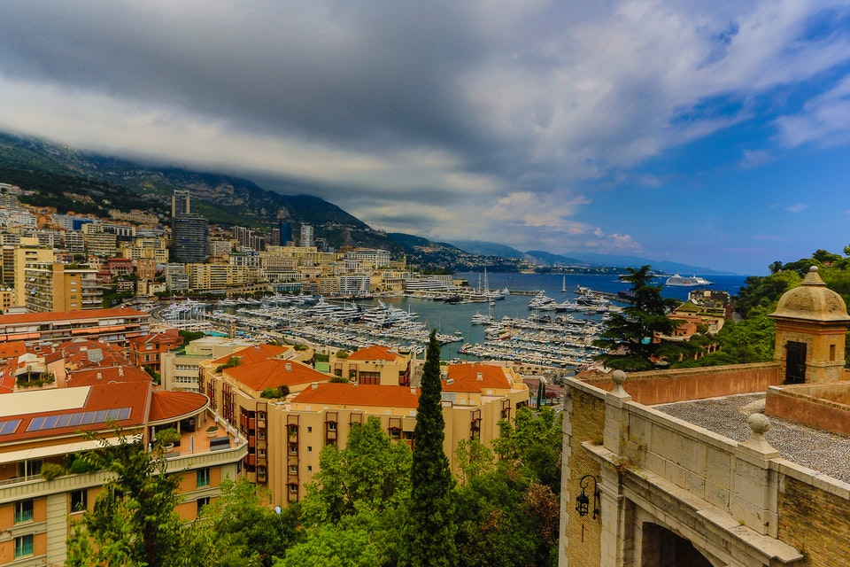 The Prince's Palace in Monaco