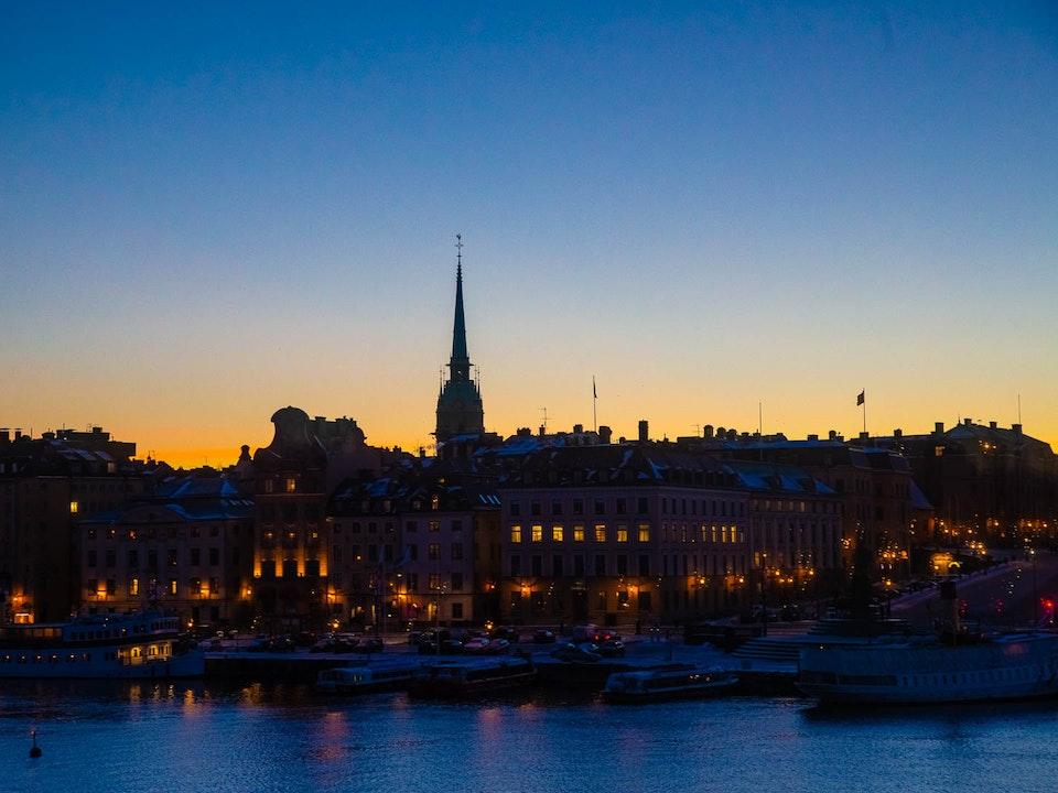 A Tog's Trek - Waterways of Stockholm