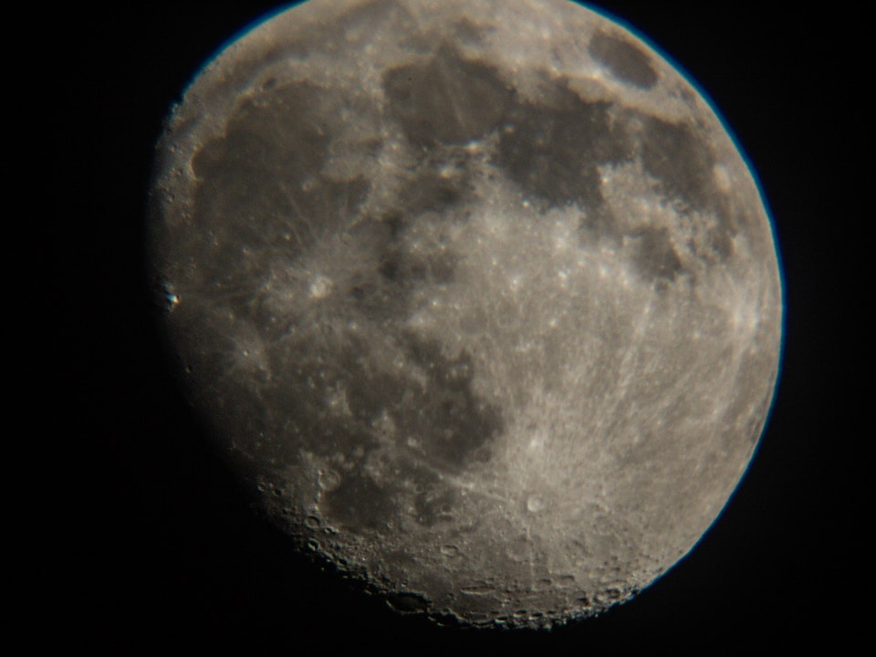 A Tog's Trek - Astrophotography | The Moon