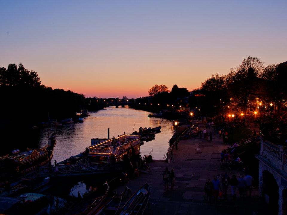 A Tog's Trek - Richmond Sunsets
