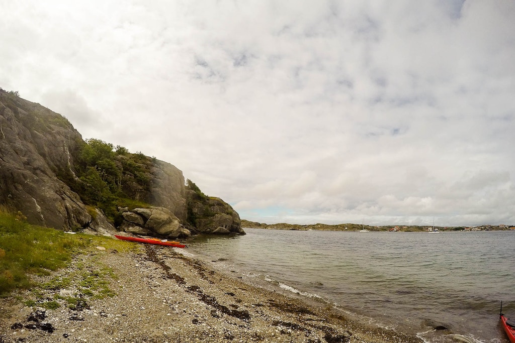 Kayaking in Orust with a GoPro
