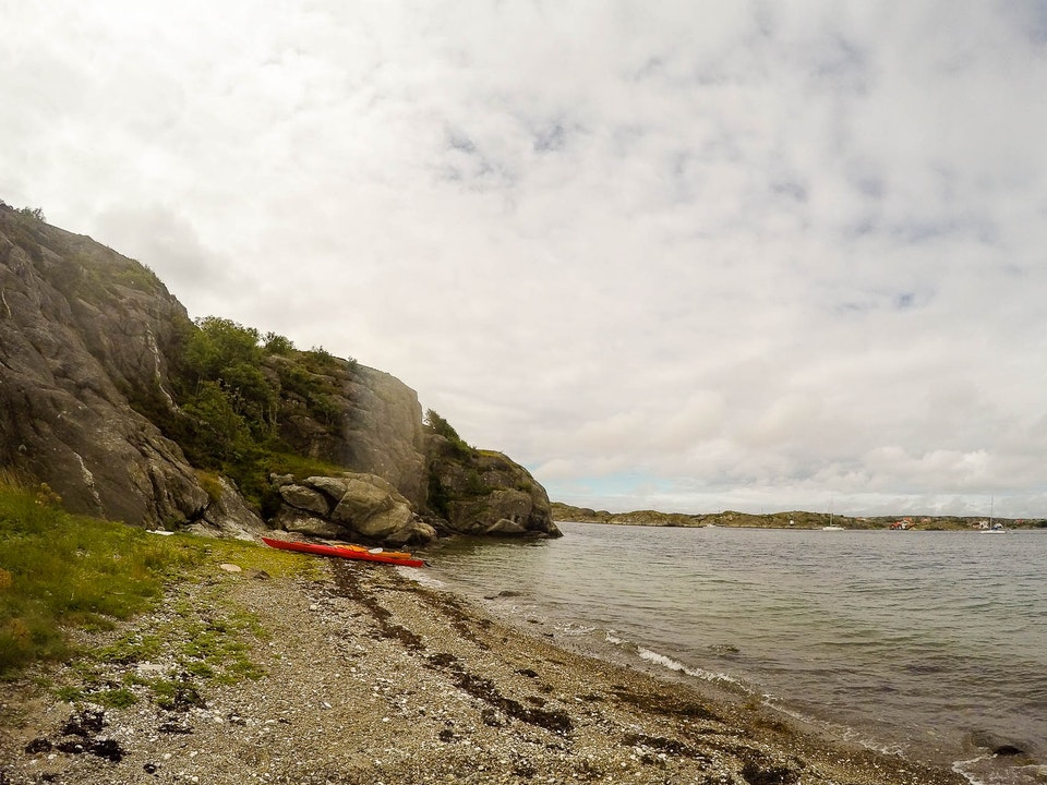 A Tog's Trek - Kayaking in Orust with a GoPro