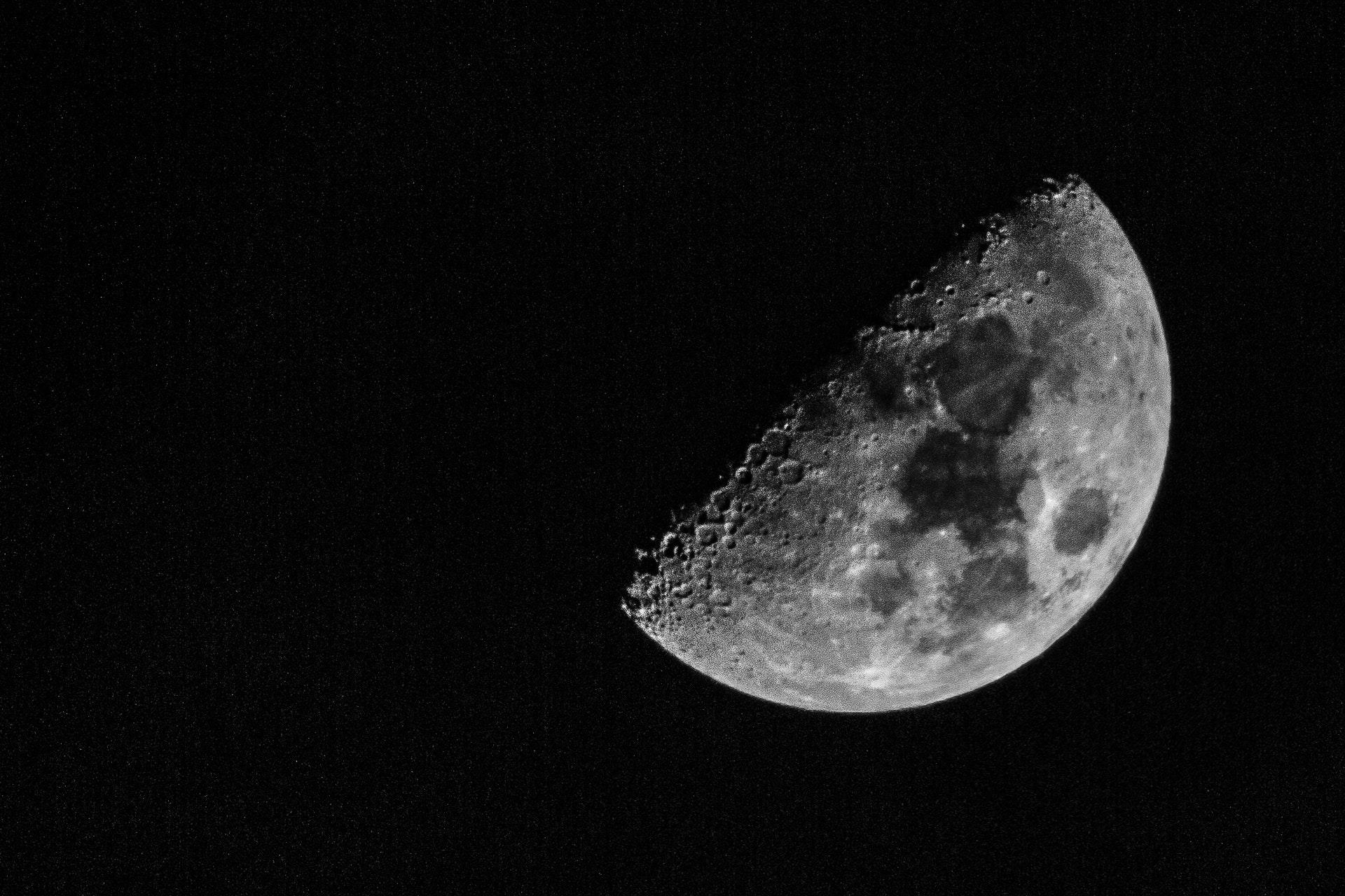 Moon at 1/80, f11 ISO1000
