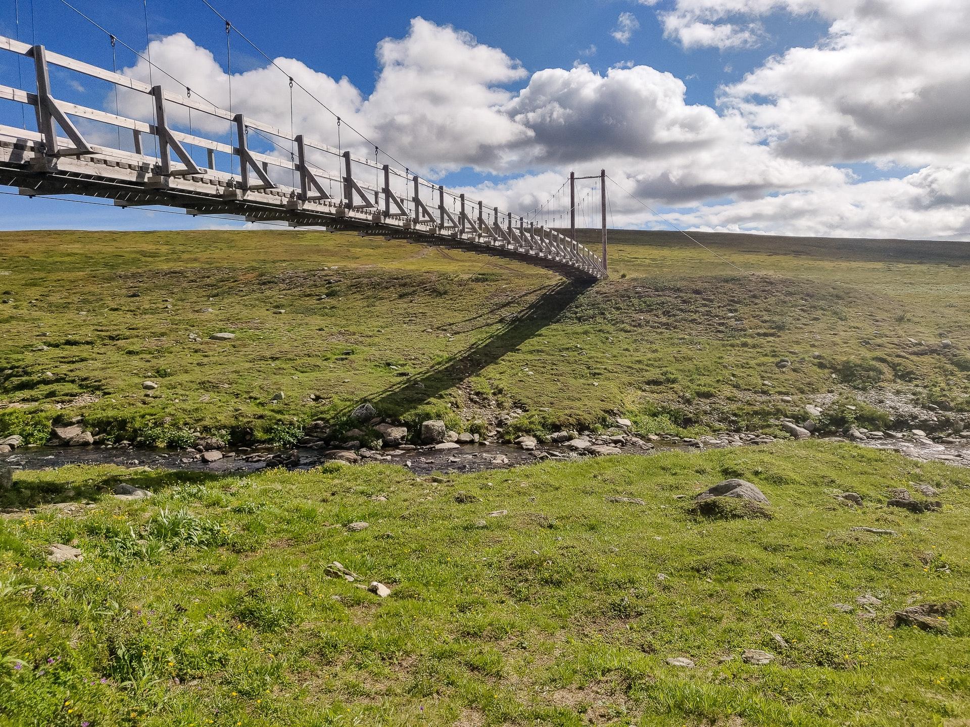Lisvuojávrrie Bridge