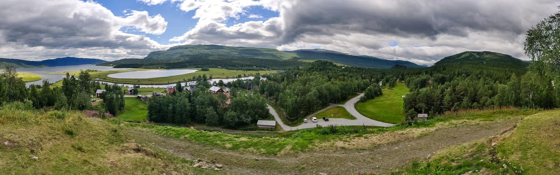 Panorama from Potatisbacken