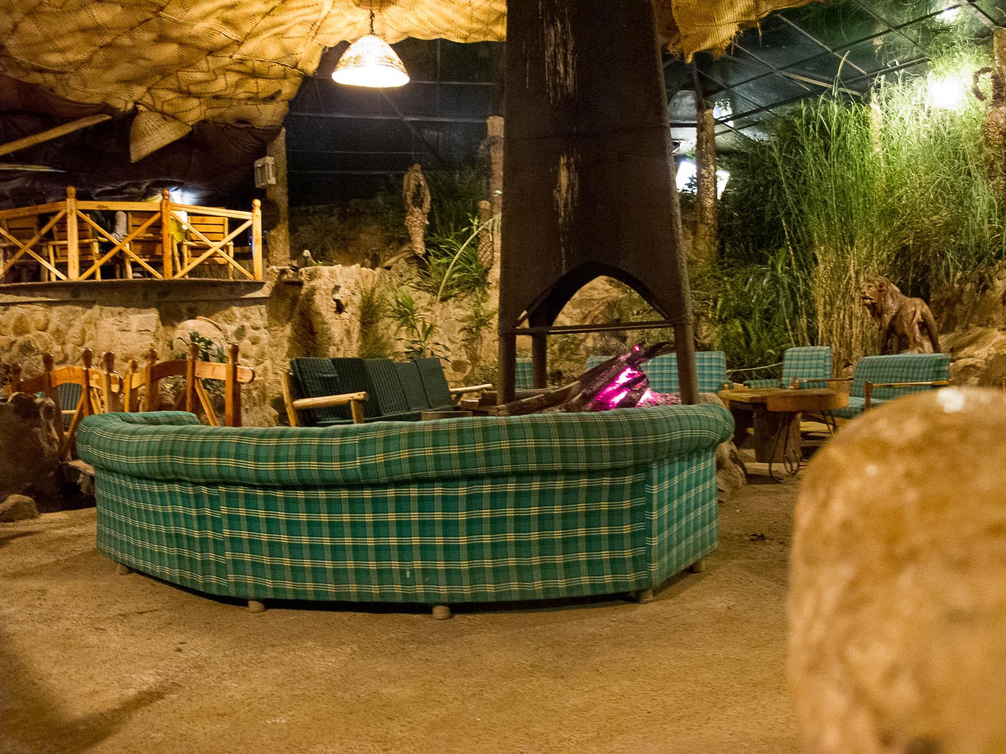 Sunset Camp bar
