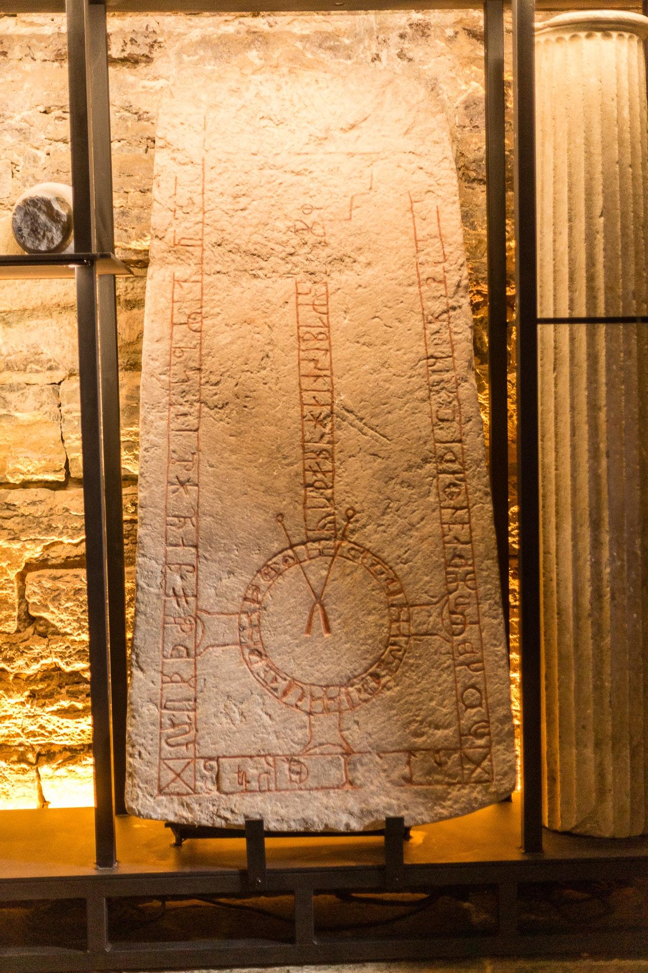 Rune-stone, part of the Hidden Treasures