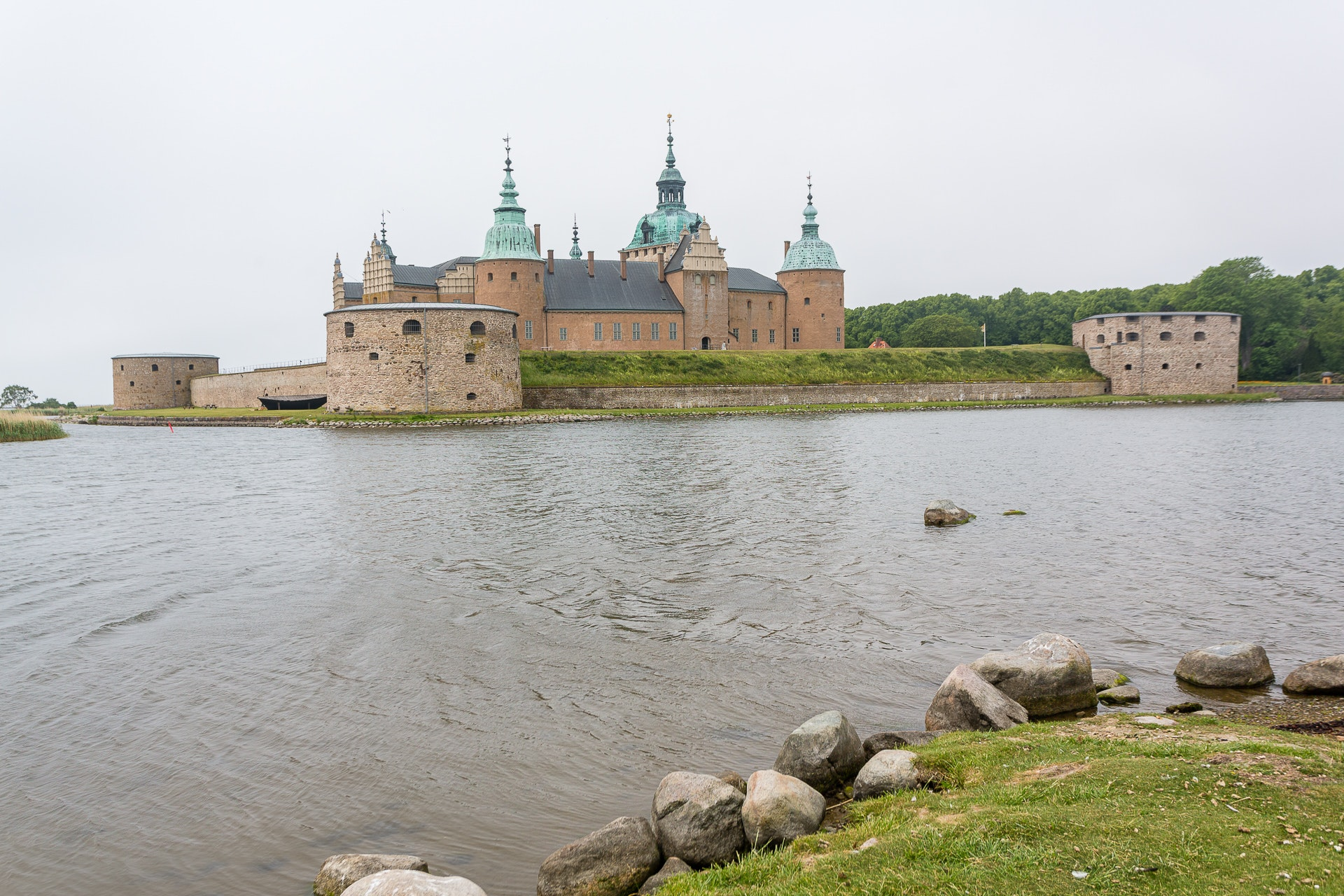 Kalmar Slott from across the water