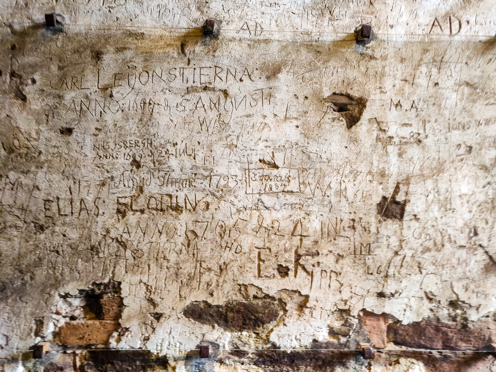 Graffiti at Borgholm Slott