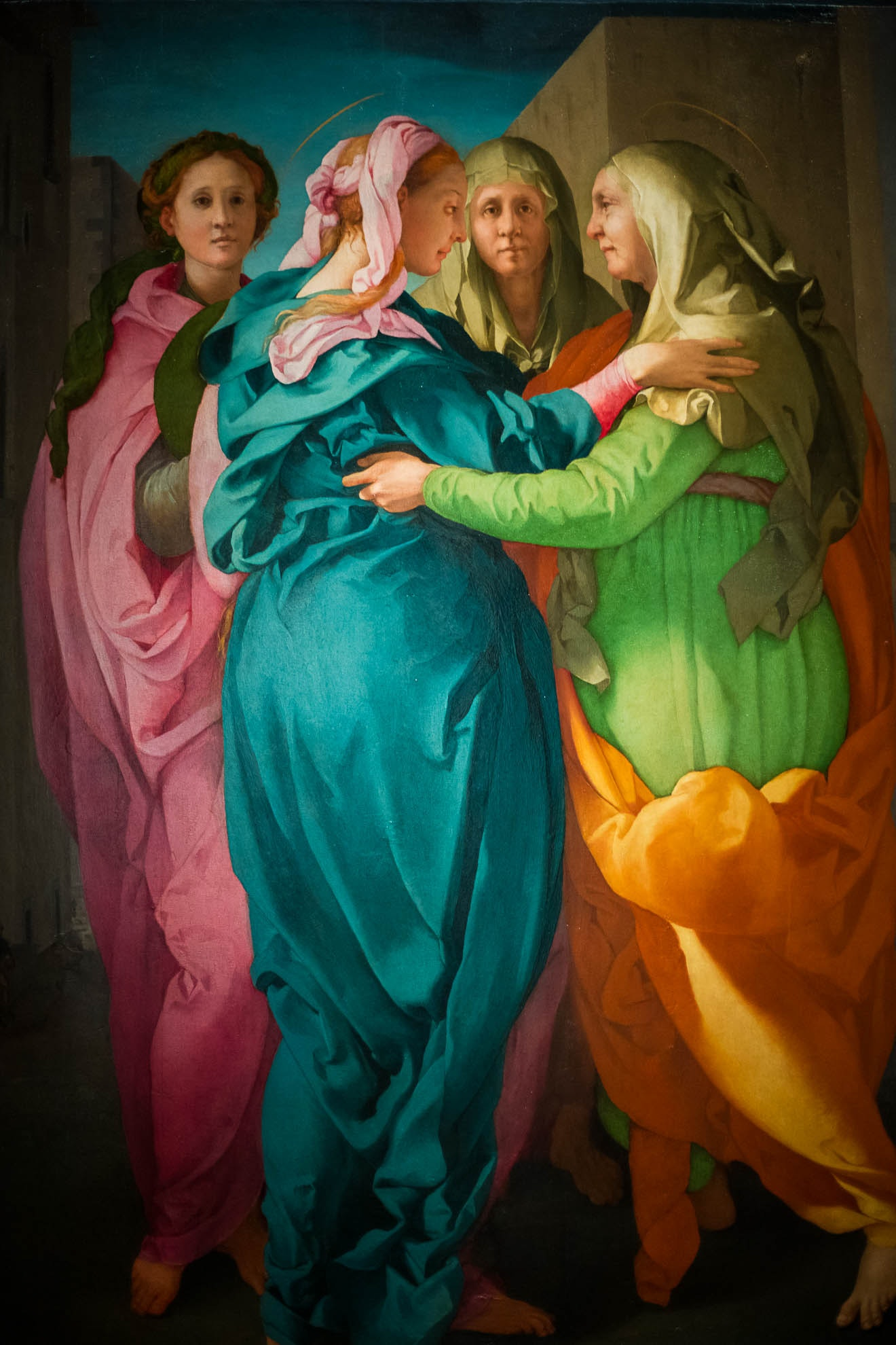 The Visitation - Jacopo da Pontormo