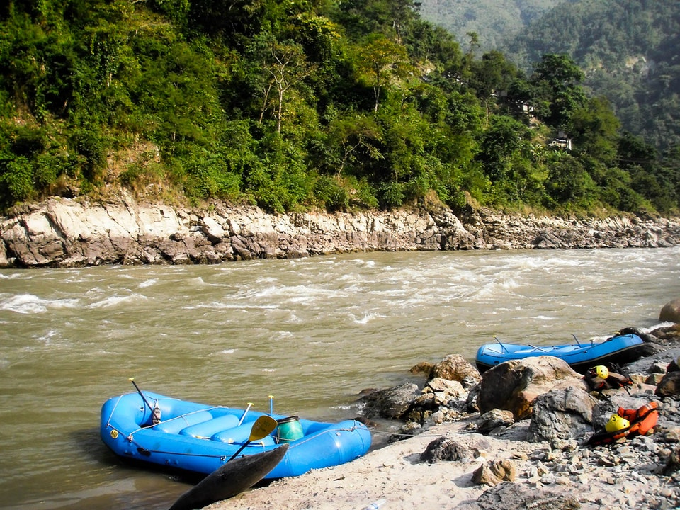 A Tog's Trek - White Water Rafting on the Annapurna River