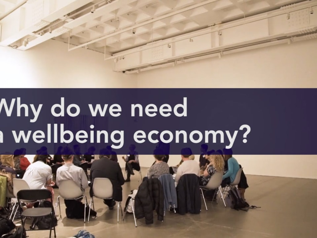 Economy of Happiness Conference (2018) // Why do we need a wellbeing economy?