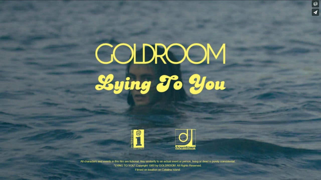 "GOLDROOM | ""LYING TO YOU"""