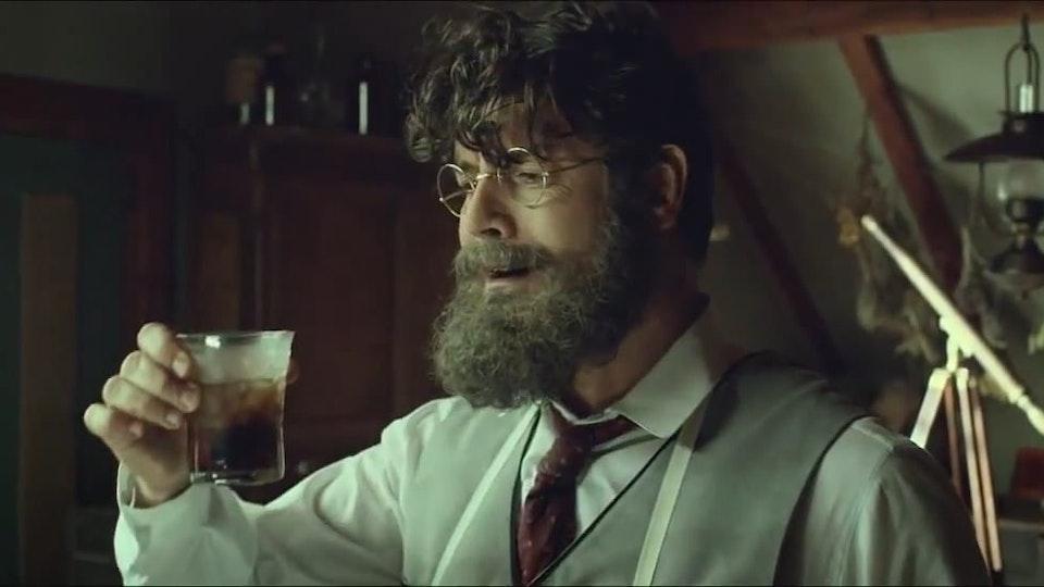 JOHN PEMBERTON. Coca-Cola.                                                                            -view-