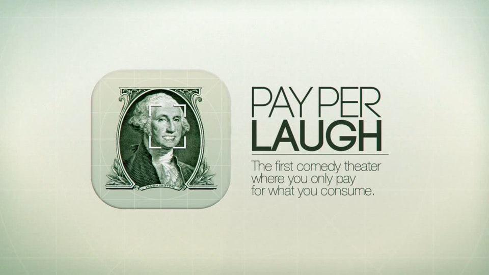 PAY PER LAUGH. Teatre Neu