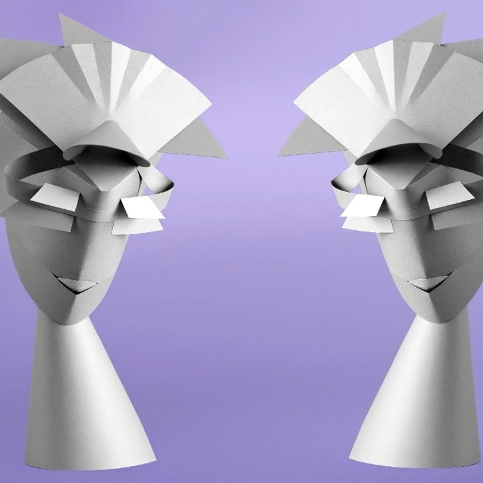 Renate Stoica - paperheads animated