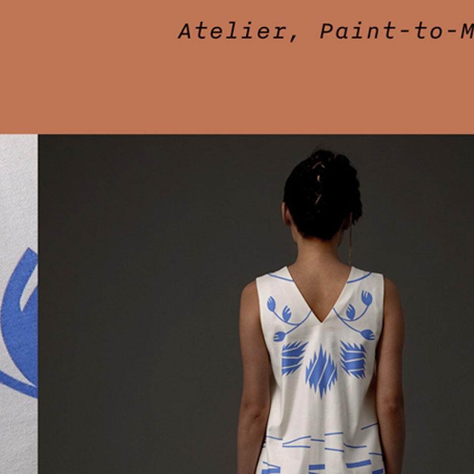 Renate Stoica - homepage design