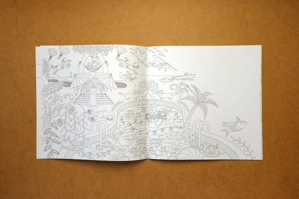 Renate Stoica - coloring book
