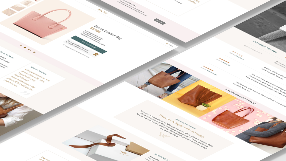 Walily - eCommerce Website