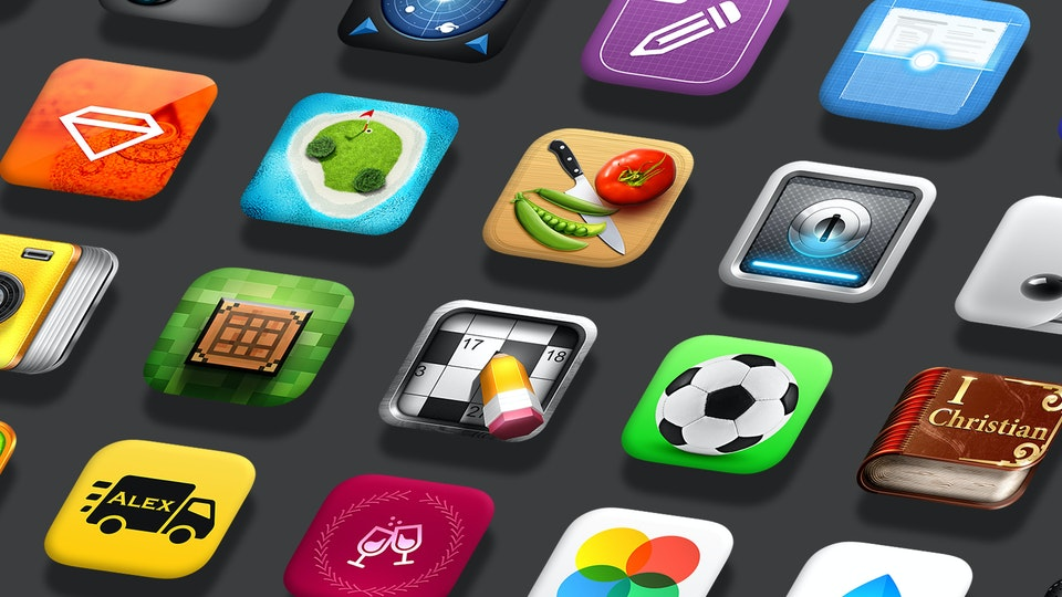 500+ Icons for Mobile App & Games